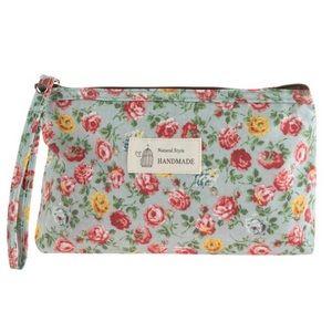 Handbags - Floral Cosmetic Bag